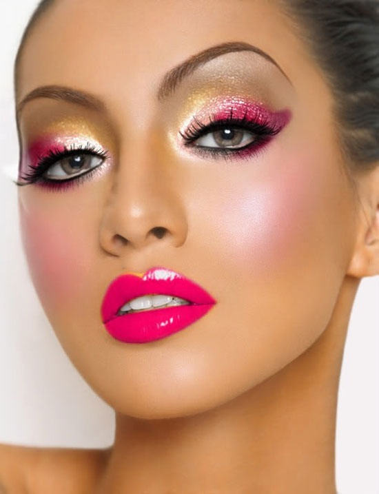 Gorgeous pinks, yellows, and shimmer !!