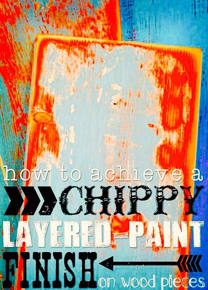A chippy layered-paint finish can add character and age to any piece. The method shown here has worked flawlessly for me many times with many different types of projects.