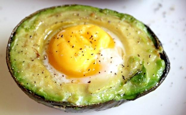 14. Baked Egg in Avocado  http://bravoforpaleo.com/2013/06/24/baked-egg-in-avocado/