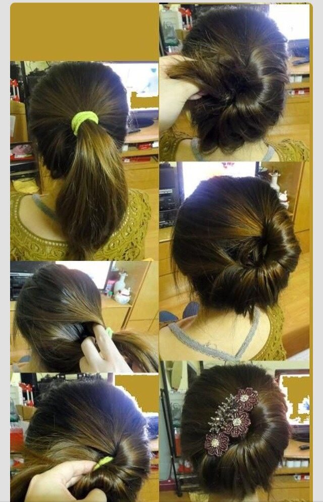 Быстрые прически на средние волосы Пошаговые инструкции