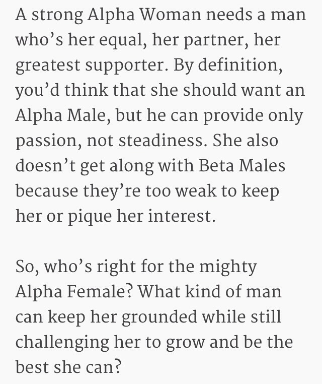 💑1⃣8⃣ Qualities Every Alpha Woman Should Look For In A