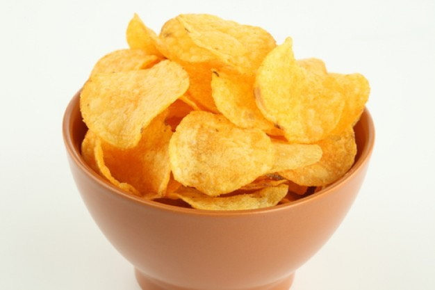 3. NEVER allow yourself to sit down with a large bag of chips. Always pour a serving into a bowl.