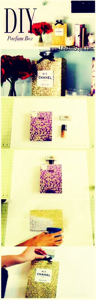 Find an empty perfume bottle and do your thang girl !
