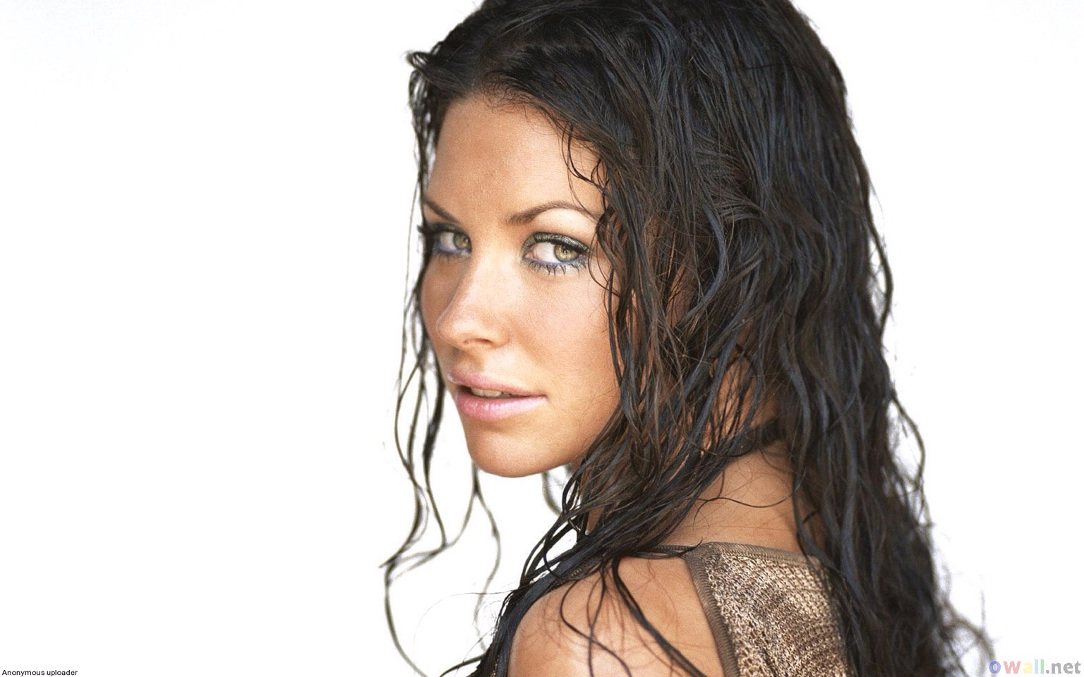Step 1- wet your hair. It doesn't necessarily have to be completely damp but it can be.