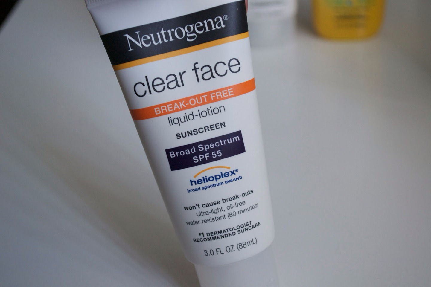 It has a high alcohol content, which helps dry up breakouts.
