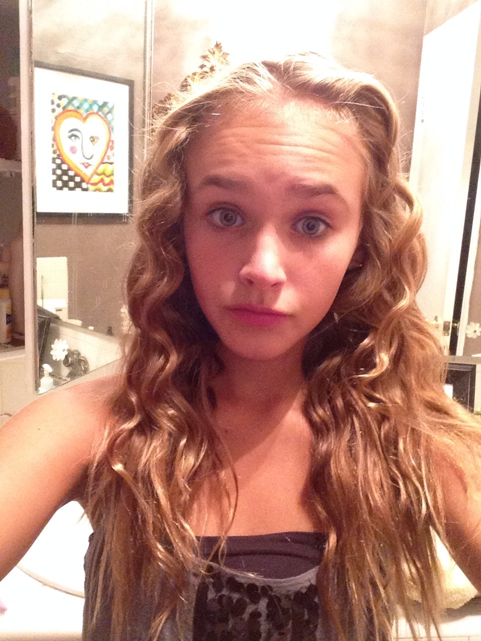 how to get cute curls