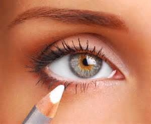 WHITE EYELINER! Adding a bit of white liner to your water line can make your eyes appear larger. It can also add an edgy touch to simple liner.
