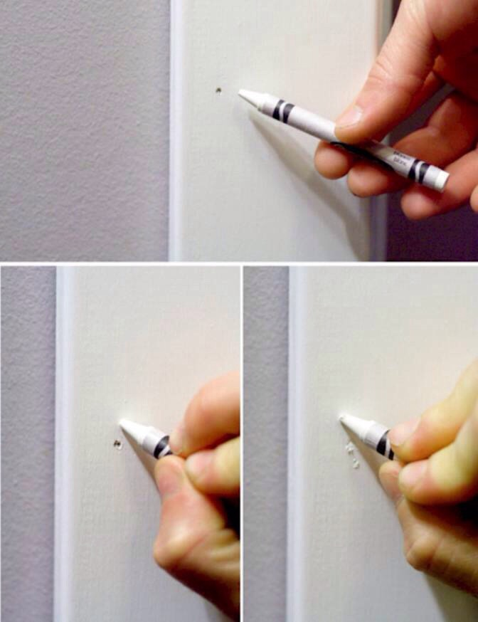 Fill In Old Nail Holes