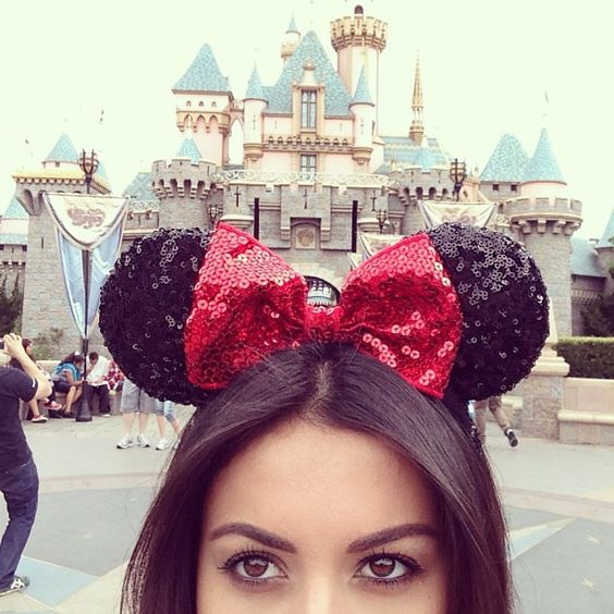 Mickey or Minnie Mouse ears are so cute for your trip to Disney