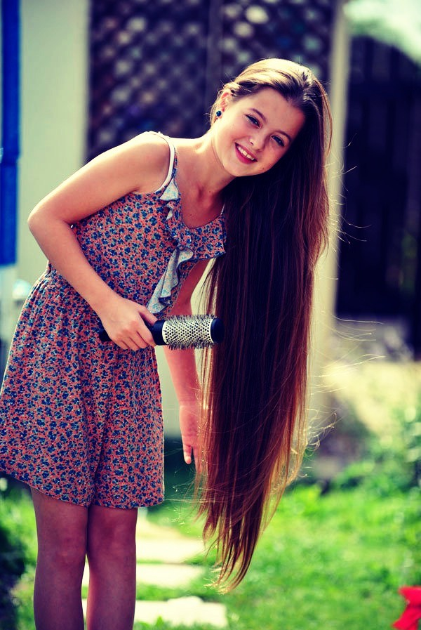 Use olive oil apply some olive oil to your hair and massage it for 15-20 mins then let sit for about 30 mins then take shower to wash it out this also helps get rid of dandruff