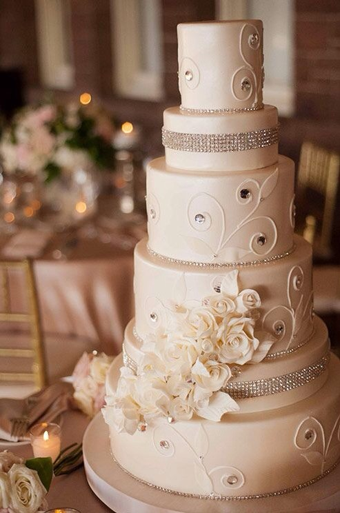 gorgeous wedding cake 50 beautiful wedding cakes to pretty to eat musely 14872