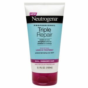 Neutrogena Triple Repair Foritying Leave-in Treatment, $5.99