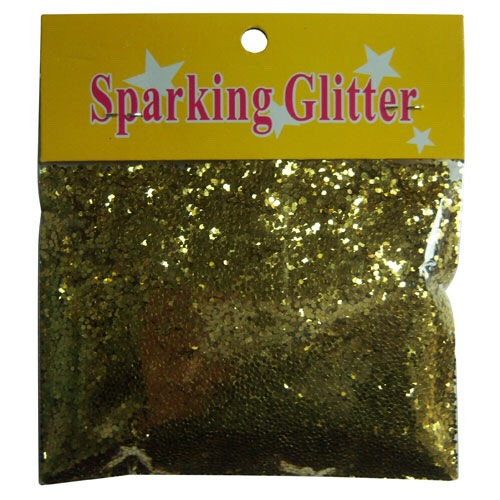 This was the brand of glitter I chose! I picked gold to go with my bathroom.