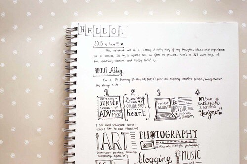 Get a cute notebook and clearly outline your goals for the day, academic wise as well as socially, physically or a personal goal like 'try not to get angry so fast' etc. You can read/write this while you are eating breakfast.