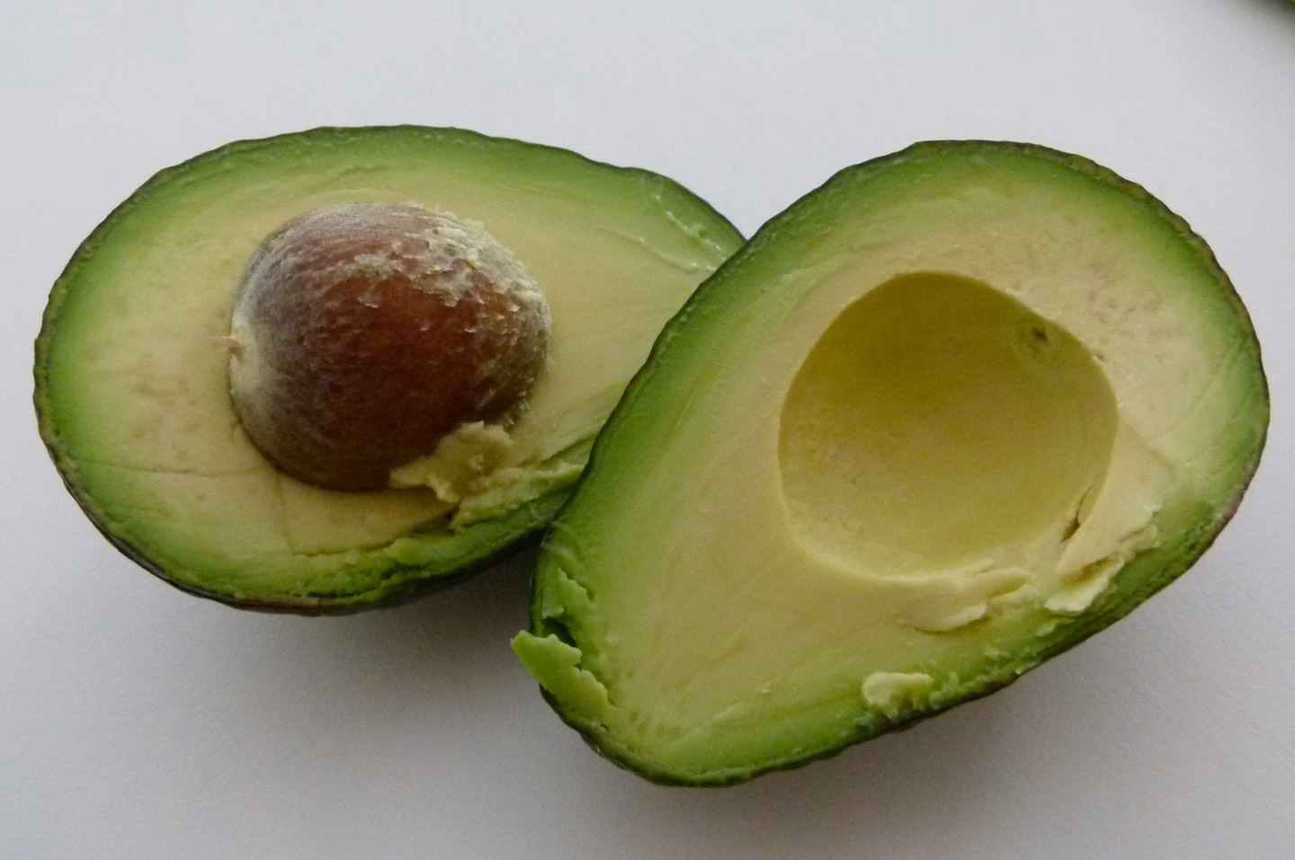 Blend one ripe avocado in a bowl after deseeding...
