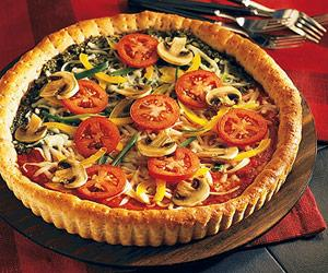 Make Ahead Tip: Prepare and bake crust. Cover and store at room temperature up to 24 hours.