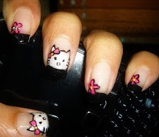 Nail art at Artwithaks.wordpress.com