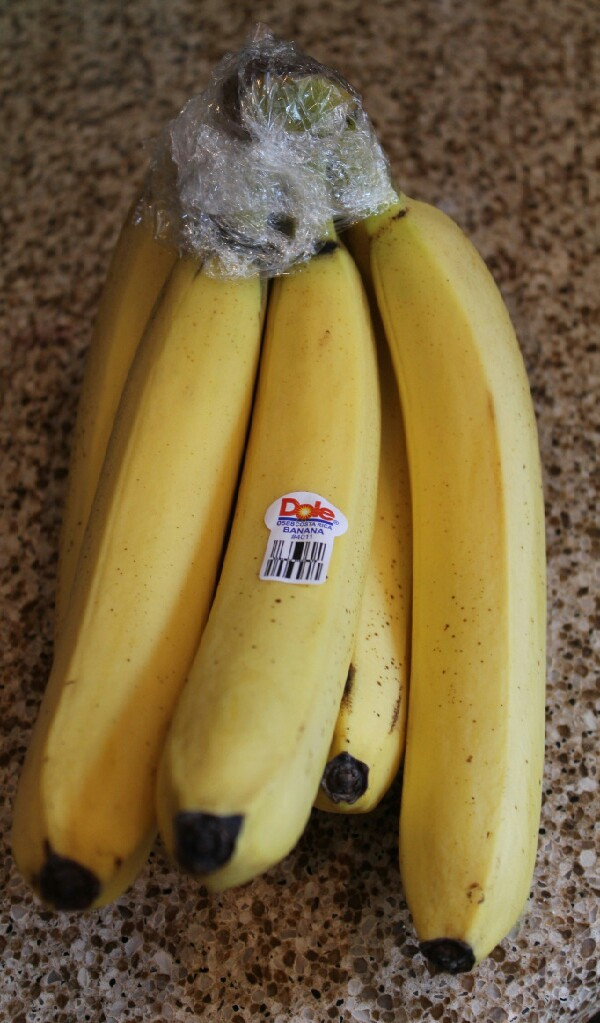 wrap the TOP  of your bananas with plastic wrap and they will last 4 to 5 days longer