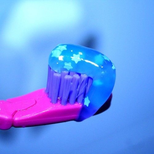 Triclosan disrupts the body's natural hormone system...  This can be found in  soaps, toothpaste and deodorants.