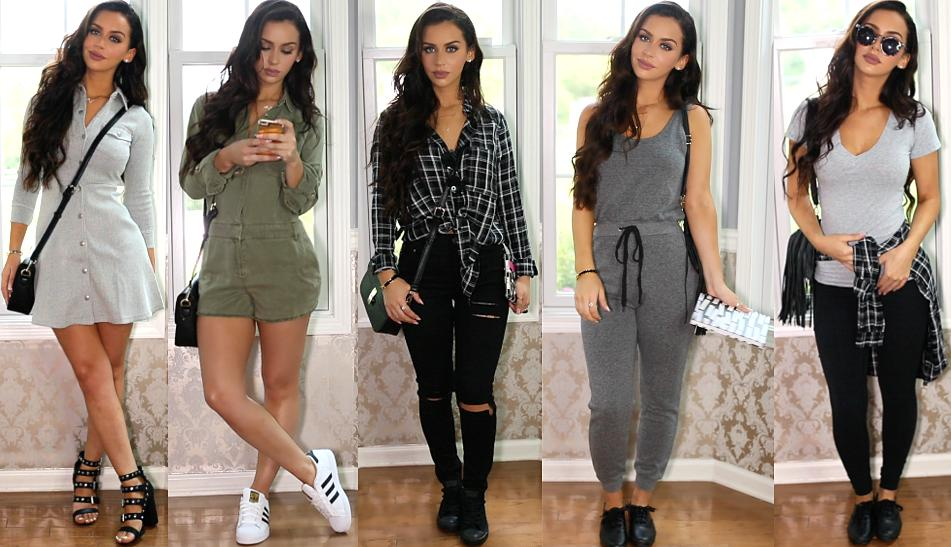 Here are 5 outfits by beauty guru Carli Bybel!