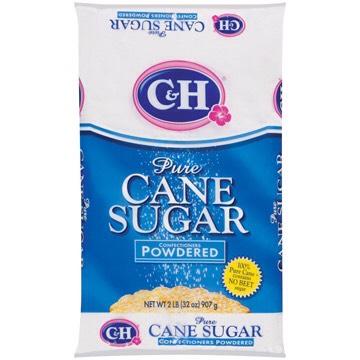 -3/4 cup powdered sugar