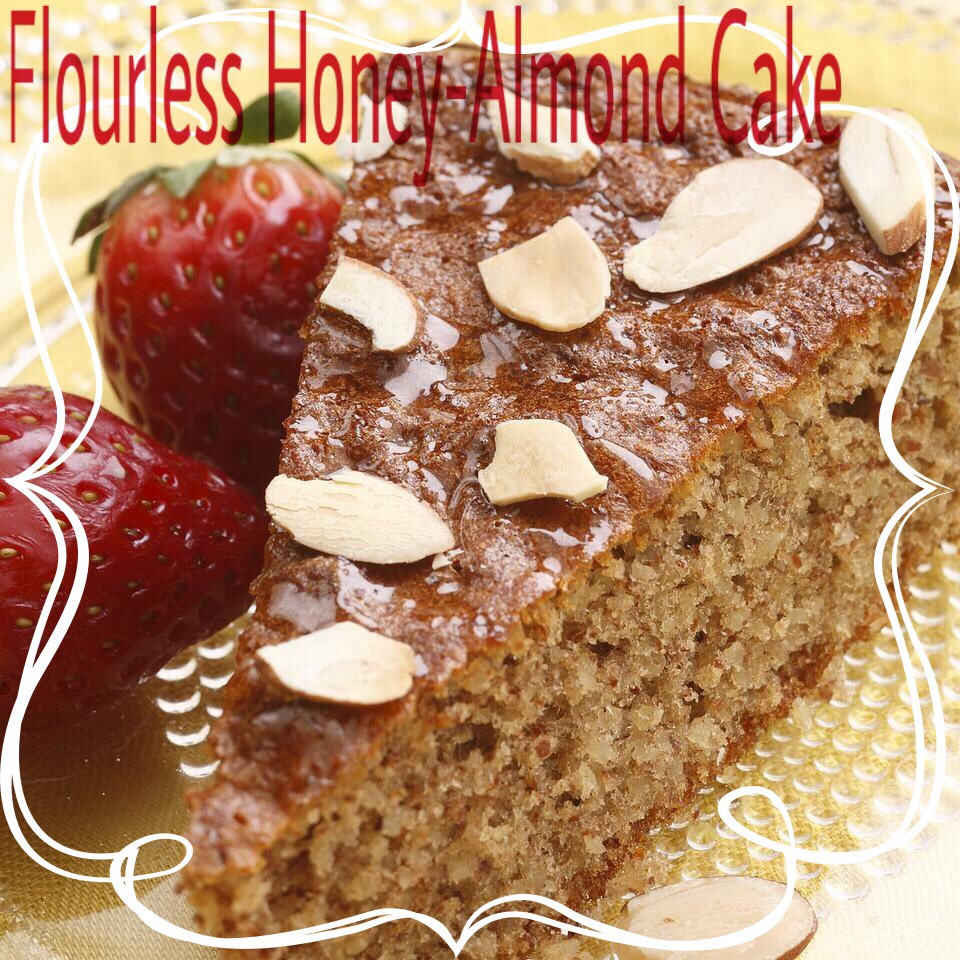 Honey and almonds flavor this simple (and gluten-free) cake. It's lovely for afternoon tea or a spring holiday dessert. Be careful not to overbeat the egg whites—ifyou beat them too much, the cake may sink in the middle as it cools. #glutenfree#hearthealthy#highfiber#lowsodium#vegetarian