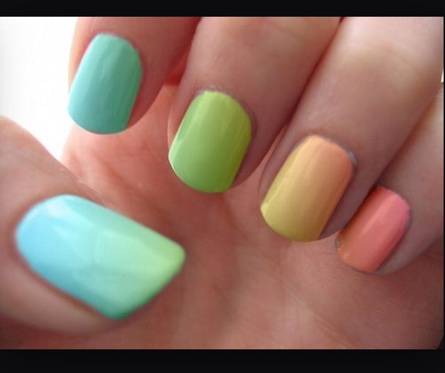 This is the EASIEST way to do your nails and with sooo many combinations possible, anything is possible!!