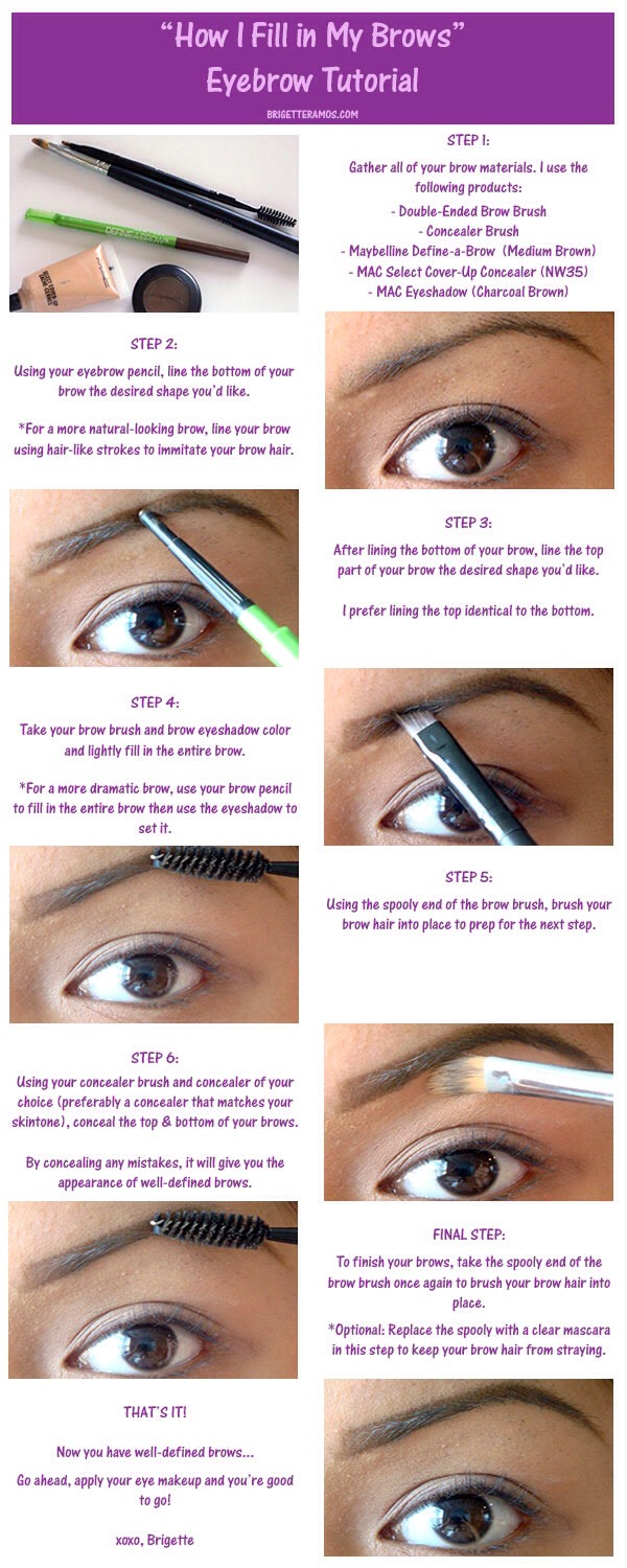 How To Fix Uneven Eyebrows Without Makeup