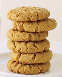The easiest peanut butter cookies