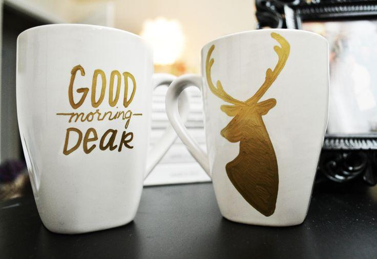 If you're stumped on coming up with a design, you can always draw what you or the person you're giving the mug to, love. Like a certain book, movie, video game, hobby, etc. Or a quote!
