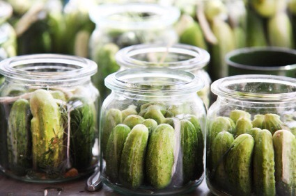 Pickles  Naturally fermented pickles (either cucumbers or other veggies) are a simple way to add probiotics. Eat them straight from the jar or alongside salads, soups, or sandwiches. Just be sure you're getting naturally fermented pickles!