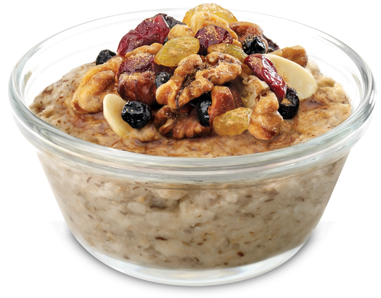 Swap out your morning bowl of cereal with oatmeal or some fat-free yogurt sprinkled with flaxseed instead. Instead of pasta, add fiber rich foods like lentils, dry beans and vegetables to your diet.