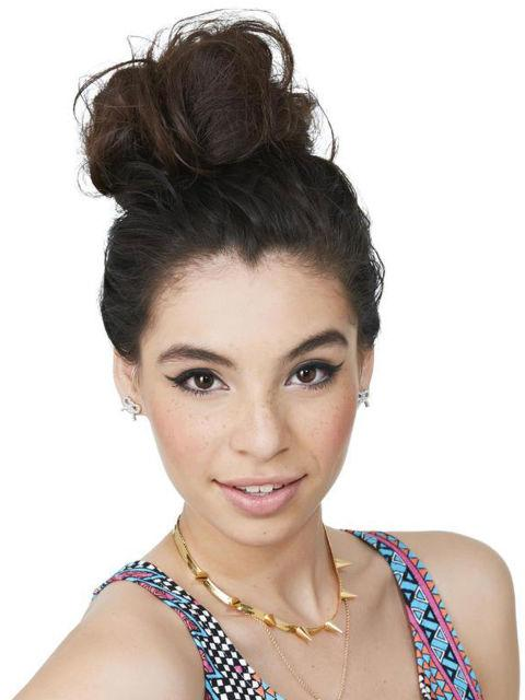 Textured Topknot Salt water, wind, and sand leave your hair with tons of natural texture. To give your average topknot extra oomph, skip the post-beach shampoo and use your fingers to rake your hair up into a loose, messy bun. Pin in place and finish with some light-hold hairspray to set.