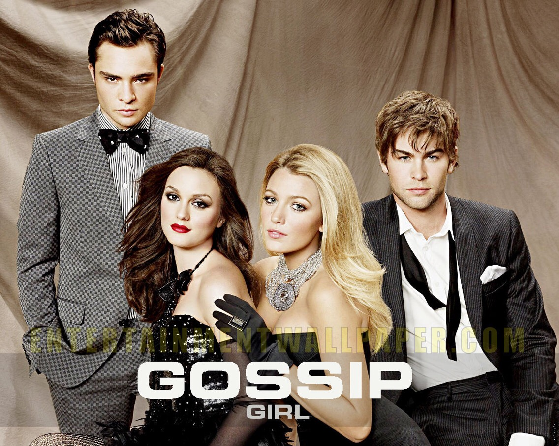 2)Gossip Girl.  I am currently watching this show and even though it is not an ongoing series and sad enough only has six seasons it is an amazing show especially for anyone in high school. 😊