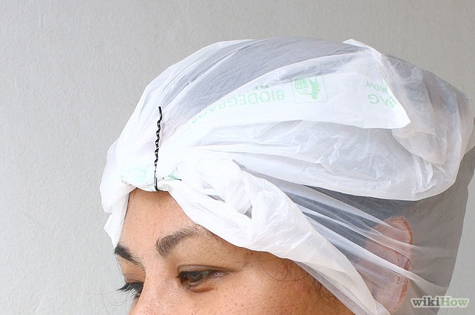 Plastic bag or shower cap