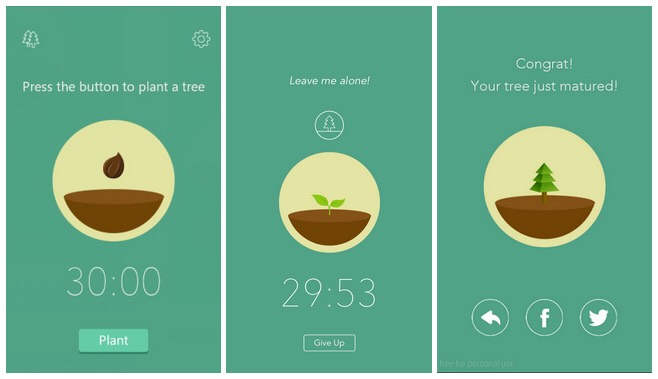 Another option to keep off your phone is to download the app Forest. For this app, you set the time you want to stay focused for and while you are reading, a tree will be growing. If you exit the app, the tree will die. It doesn't work for everyone but it is cool to grow your own virtual forest!