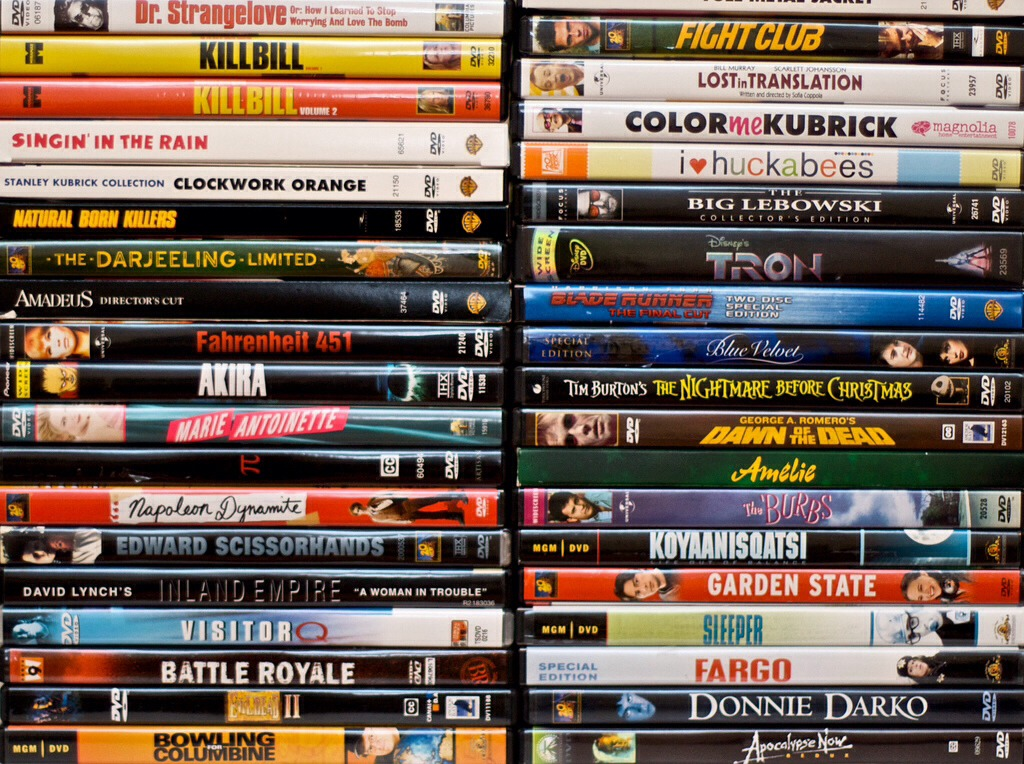 2) ALLLLLL your favorite movies, NO LOVE ONES ALLOWED
