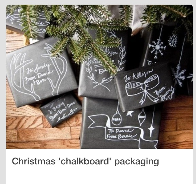 All you need is black package paper or wrapping paper, chalk of any color and your imagination. Please don't forget to like and follow. Please check out my other tips as well. Thanks!