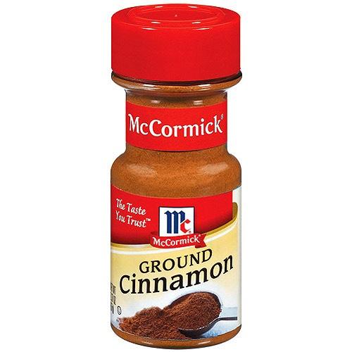 1 tablespoon of ground cinnamon
