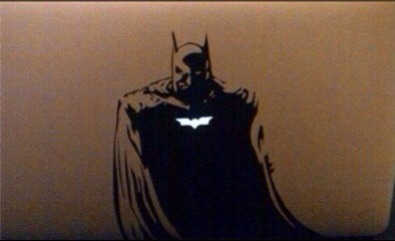 Make a totally awesome batman decal DIY