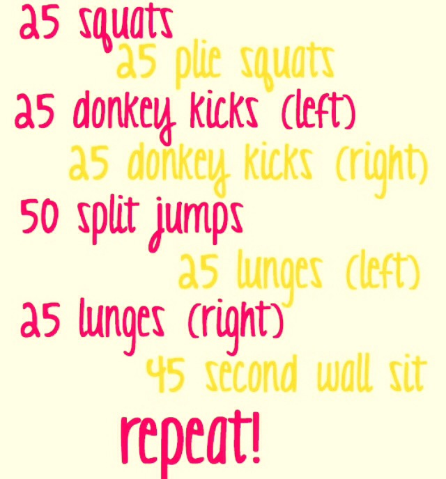 Booty Workouts !!! 😍😍😍