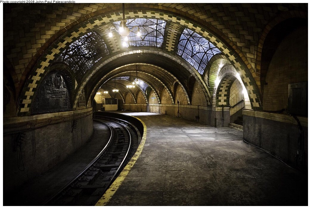 City Hall Subway Station, NYC