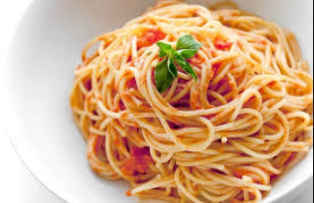 Having trouble with sticky spaghetti? Try putting butter on the noodles! -not a fan of butter, try Olive oil it's healthier and makes the spaghetti taste great!