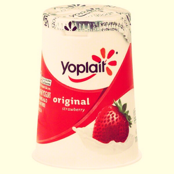 Like Jell-O products, Yoplait often contains gelatin in the yogurt. Not all yogurt is unsafe though! Just be sure to check the labels.