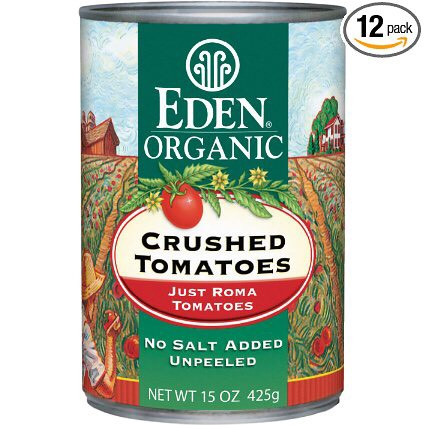 Add in crushed tomatoes to your vegetables and found beef
