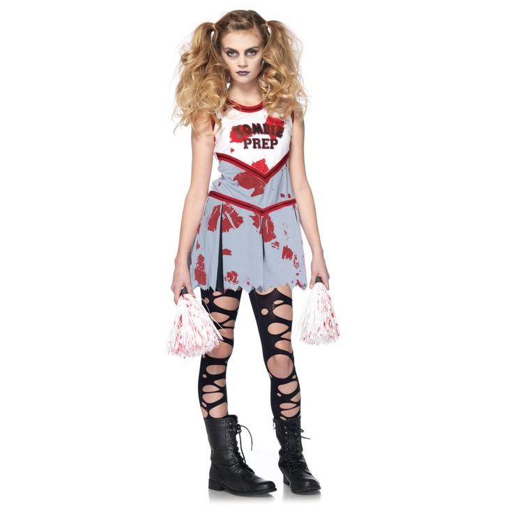 Dead cheerleader This is what i'm going as this year