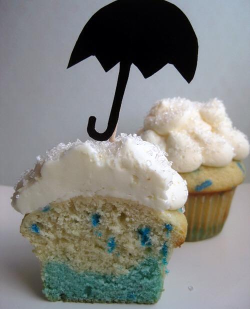 19. Rainy Day Cupcakes