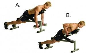 8: Incline Dumbbell Rows