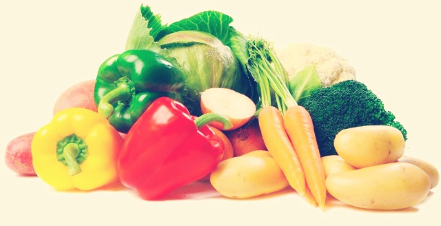 Try to eat more vegetables because they make you full up so you won't want to eat a lot after your meal!