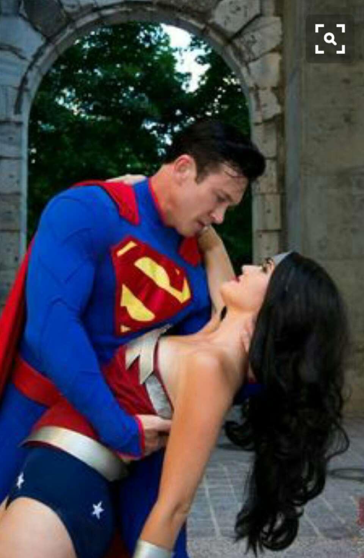 superman and superwoman